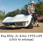 Click to enlarge image of Ray & his LS5